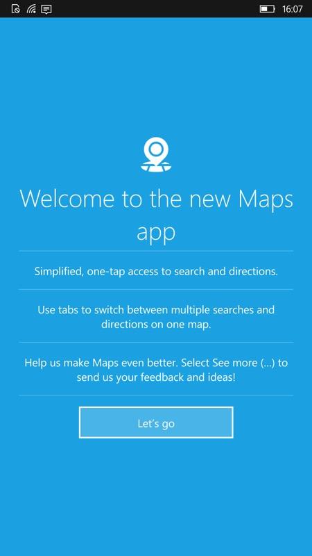 Screenshot, Maps v5