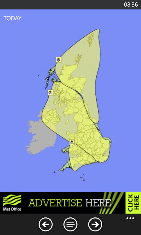 Met office app