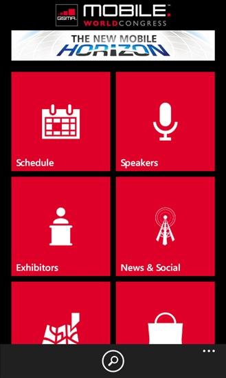 MWC App on Windows Phone