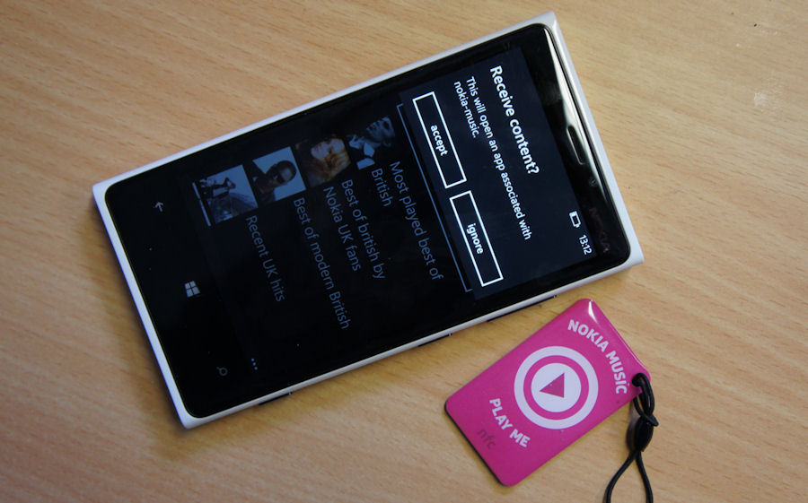NFC tag Music