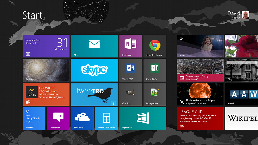 NextGen Reader Windows 8
