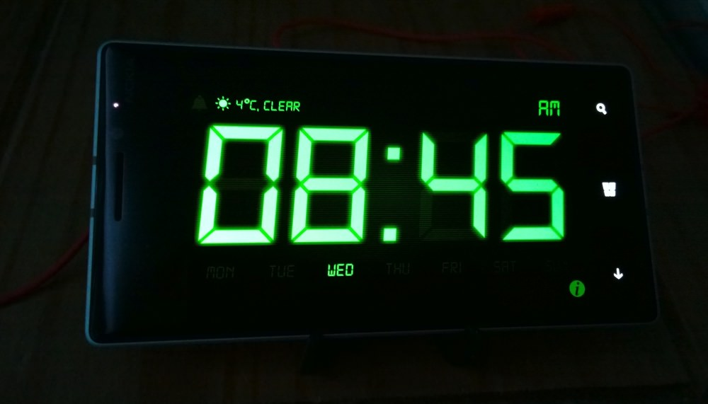 Night Stand Clock