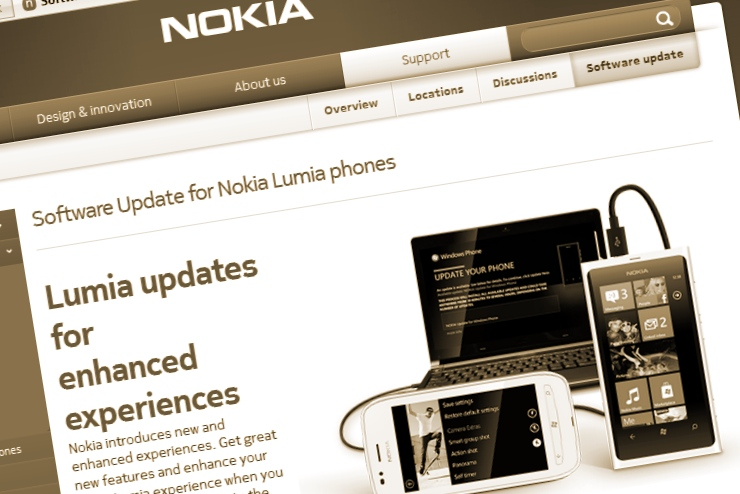 Nokia Update for 800 and 710