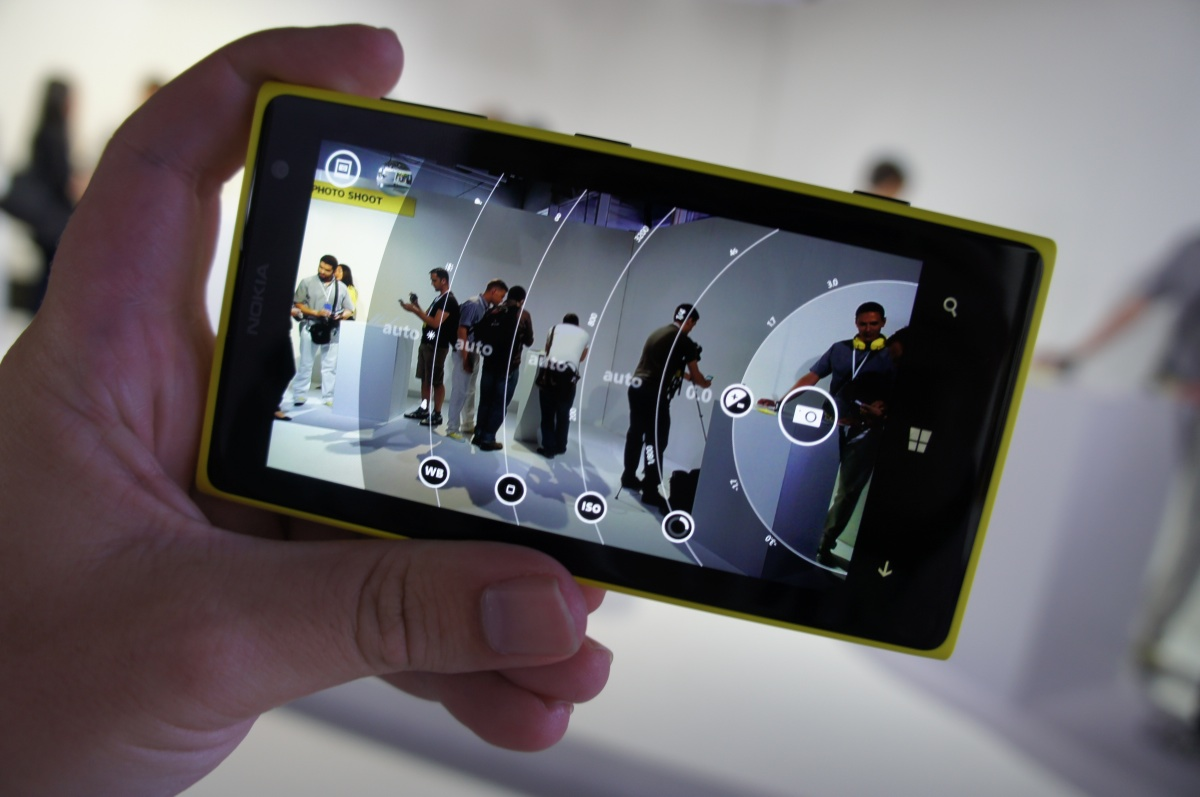 The Lumia 1020 in action