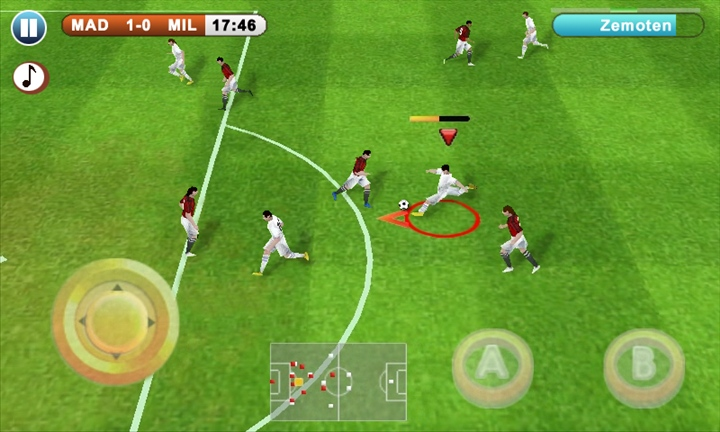 Real Football 2012 on WP