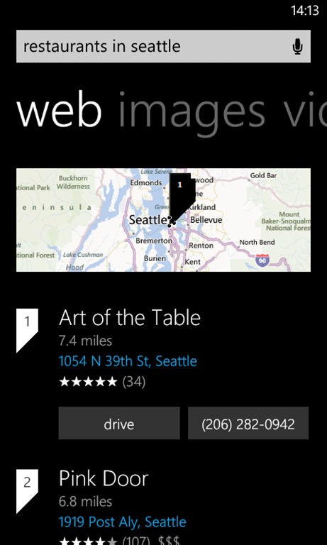 bing search set to go blended with new windows phone layout update