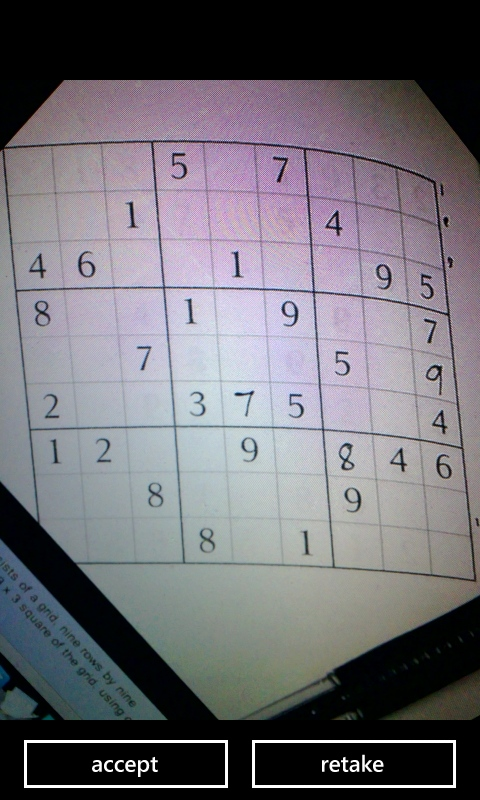 Sudoku Capture