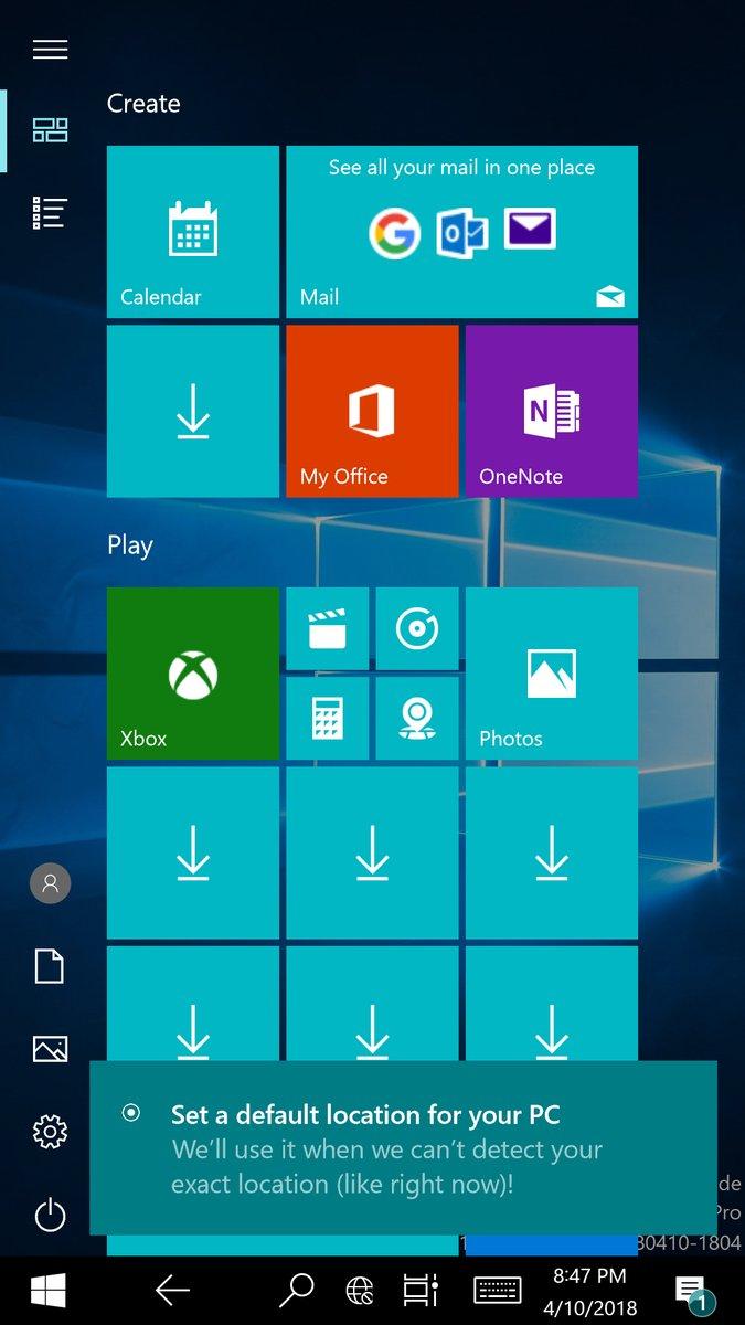 Windows 10 on ARM ported to the Lumia 950 XL