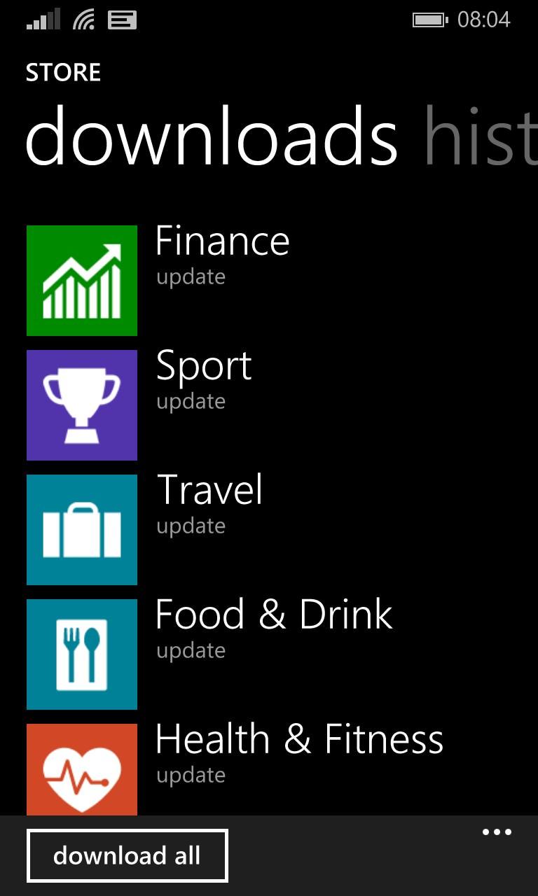 Screenshot, MSN rebrand