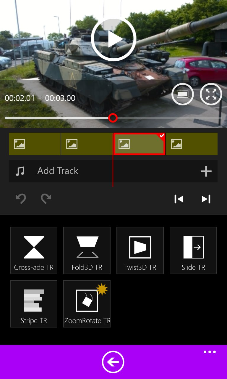 Screenshot, Movie Maker 8.1