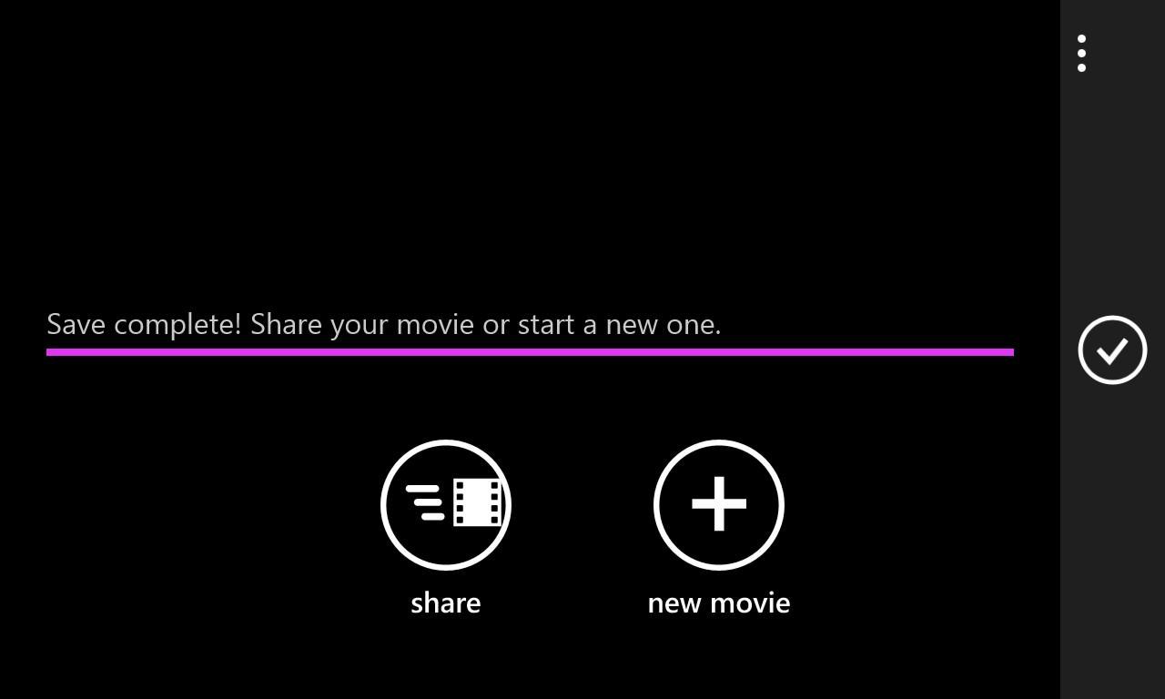 Screenshot, Movie Moments