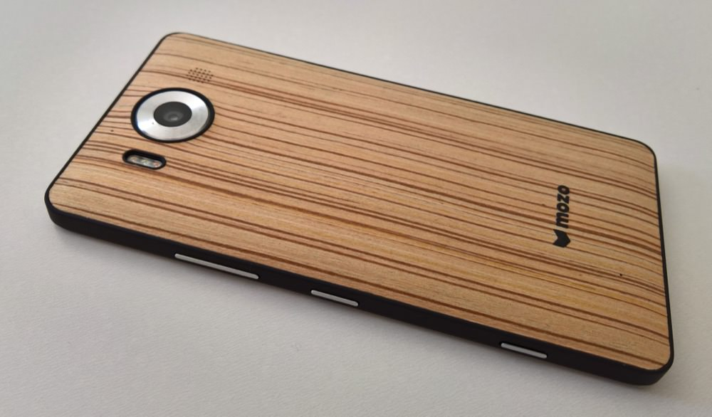 Zebra Wood back