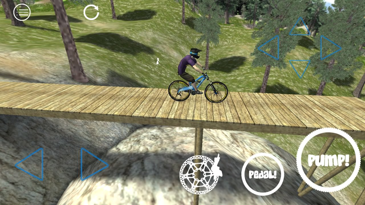 Screenshot, Shred! Extreme Mountain Biking