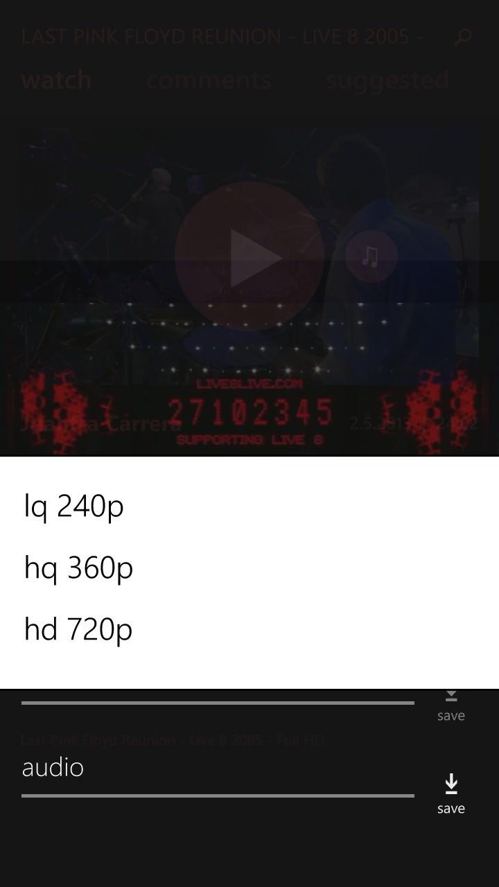 myTube! screenshot