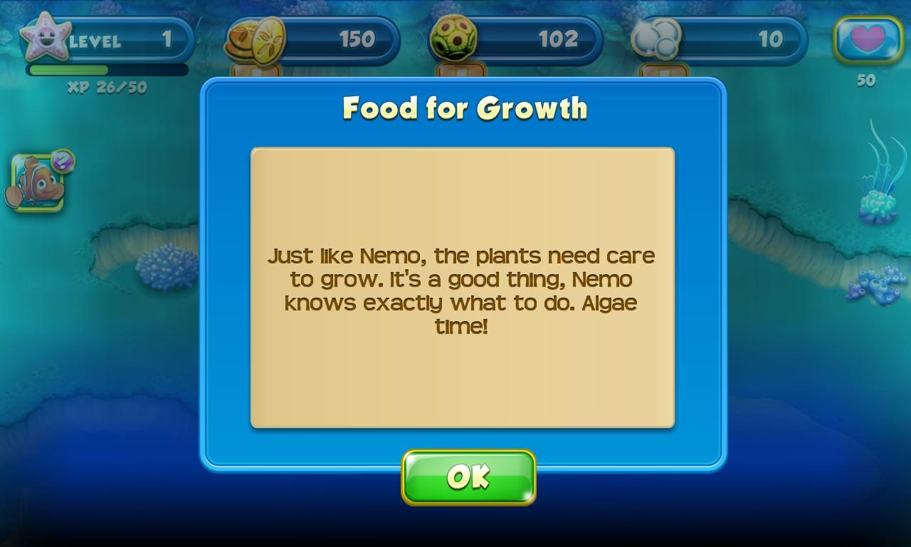 Screenshot, Nemo's Reef