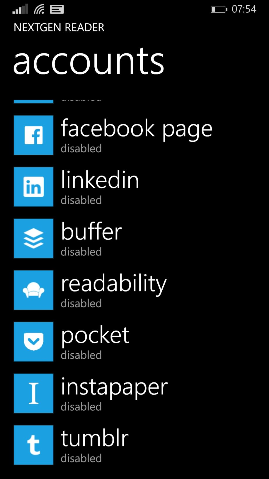 Nextgen Reader screenshot