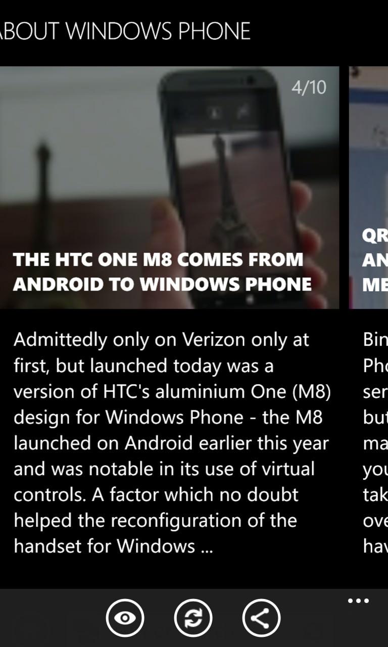 Screenshot, Nokia Xpress