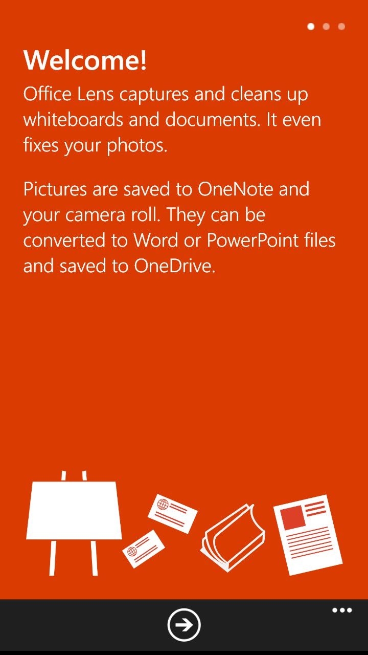 Office Lens gets business card support, OCRs (via OneDrive ...