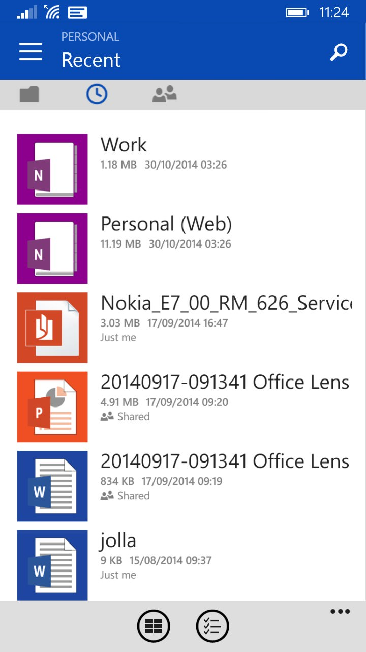 Screenshot, OneDrive