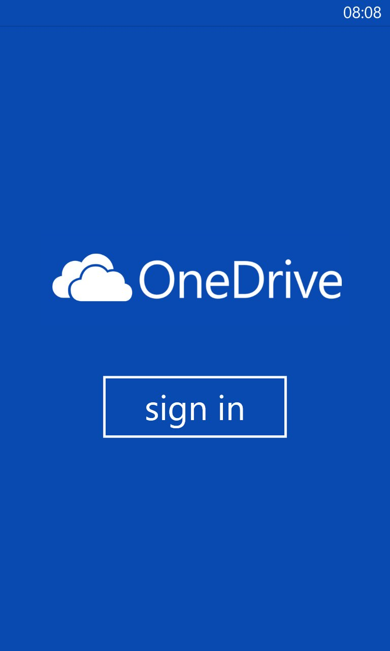 Screenshot, OneDrive transformation