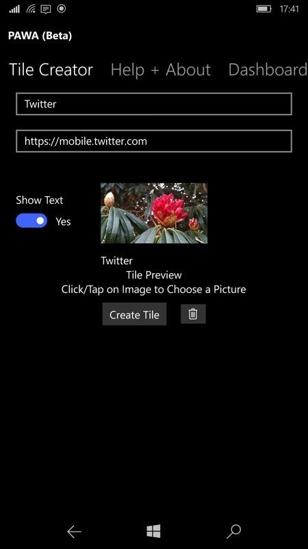 Screenshot, PAWA