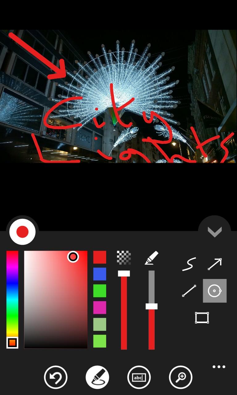 Screenshot, Photo Marker