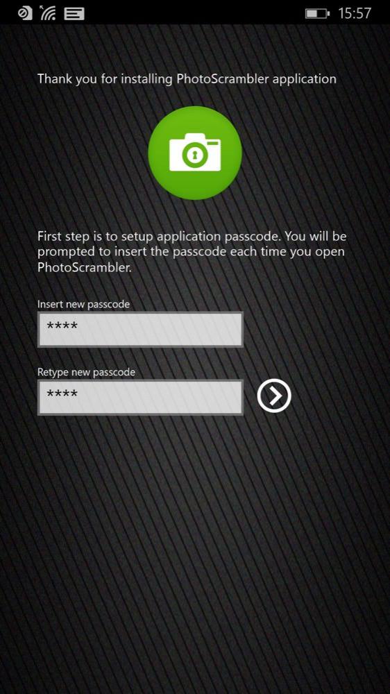 PhotoScrambler screenshot