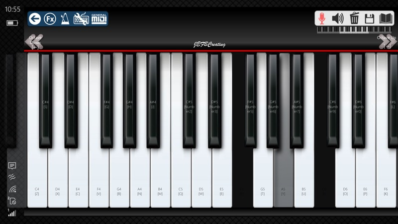 Screenshot, Piano 10