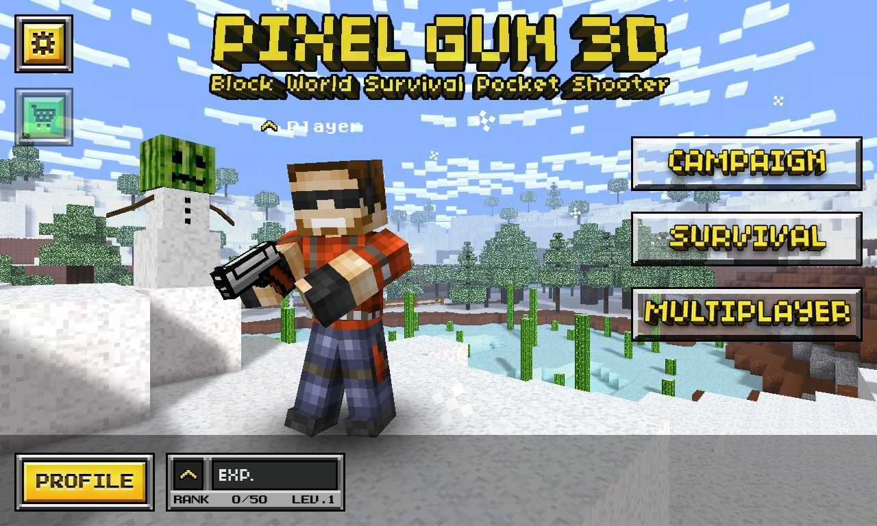 Screenshot, Pixel Gun 3D