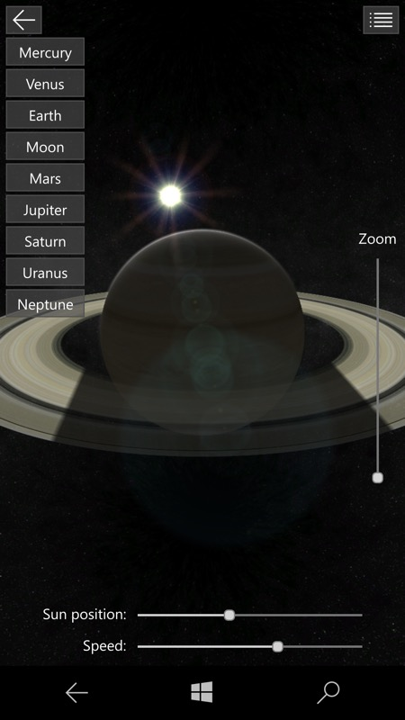 Planetarium 3D UWP