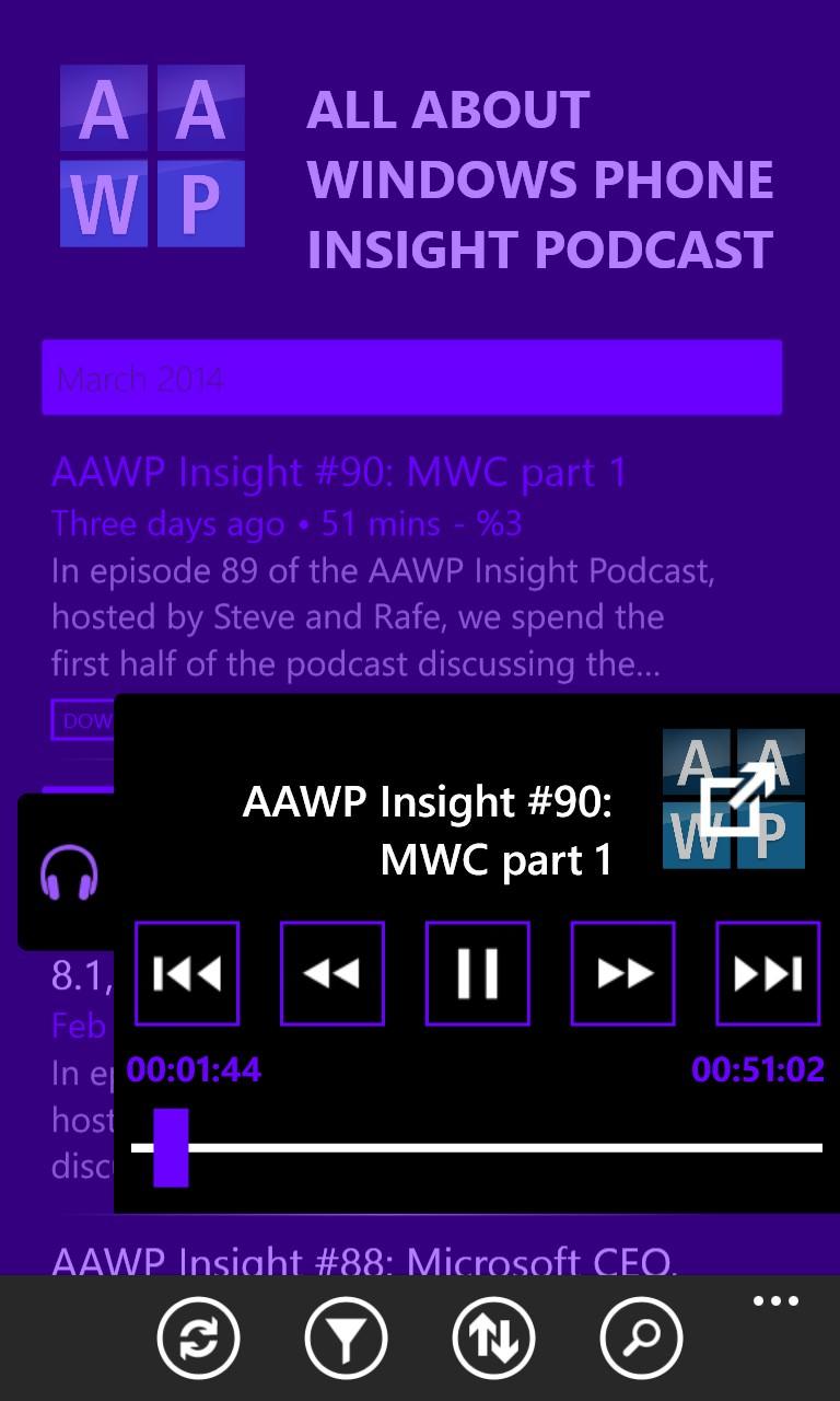 Screenshot, Podcast Critter