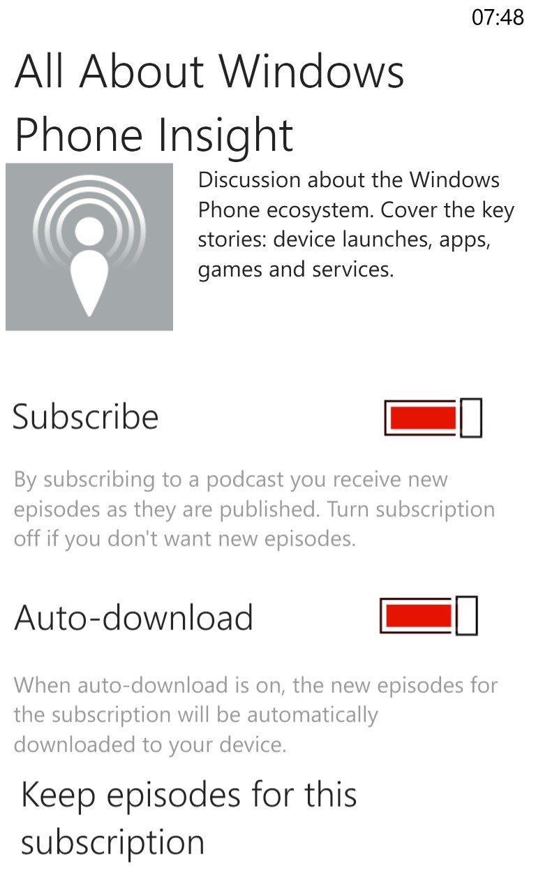 how to download all podcasts at once on pc