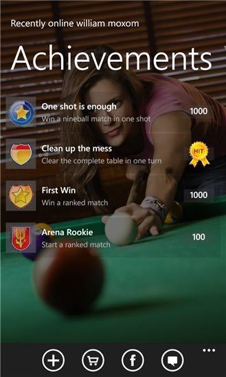 Screenshot, Pool Arena Online