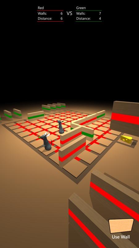 Screenshot, Quoridor 3D
