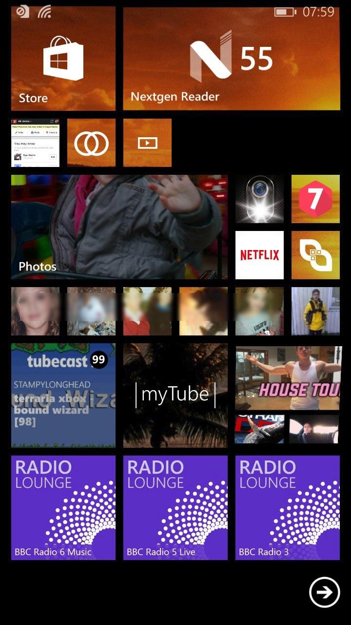 Screenshot, Radio Lounge UK