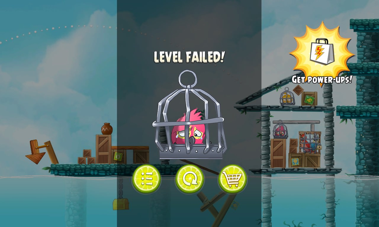 Screenshot, Angry Birds Rio