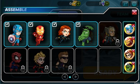 RJS! screenshot, Marvel Avengers