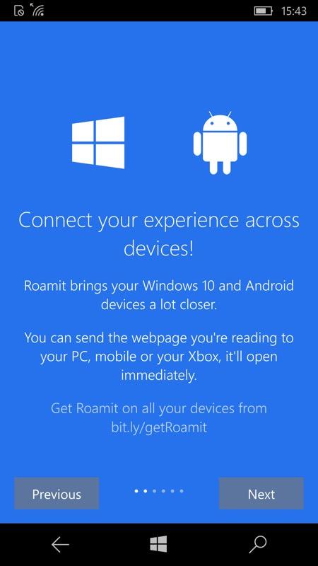 Screenshot, Roamit