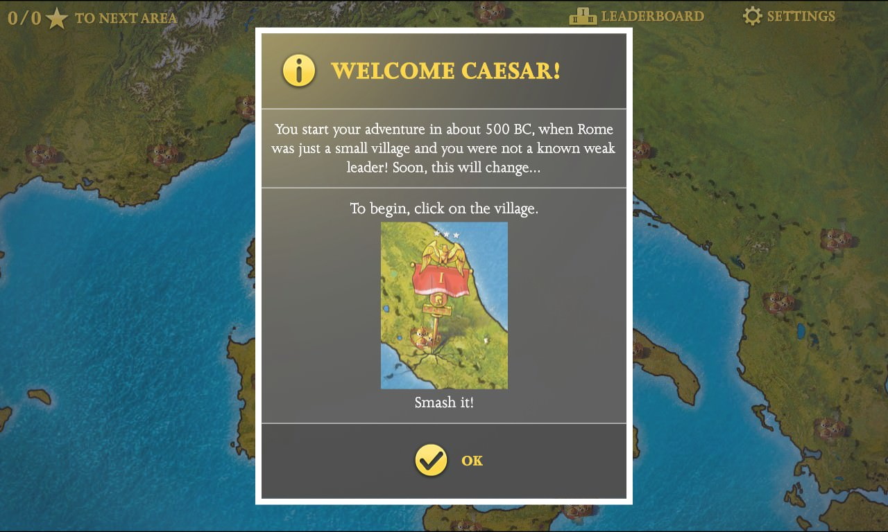 Screenshot, Roman Empire