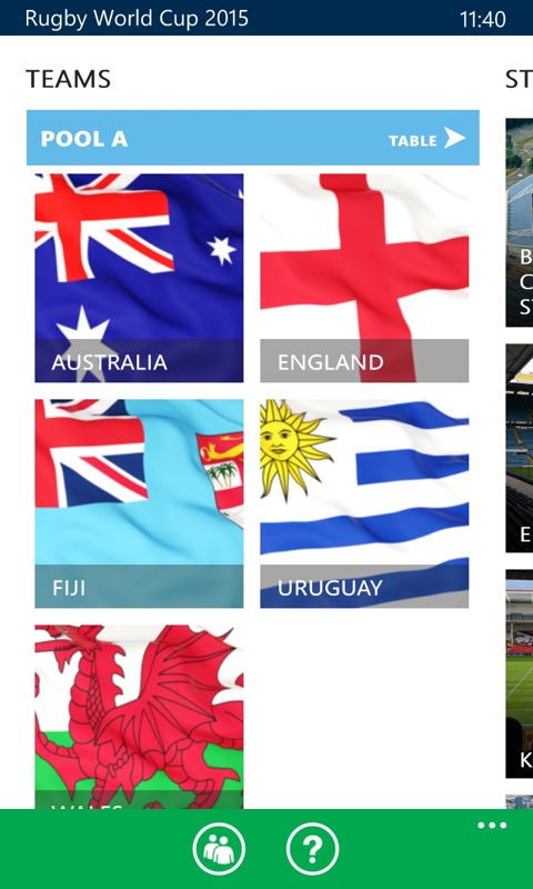 Screenshot, Rugby World Cup