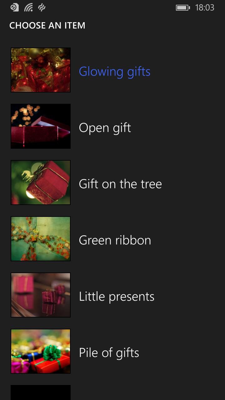Screenshot, Santa's Notes