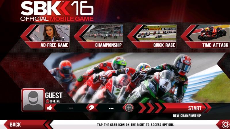 Screenshot, SBK16
