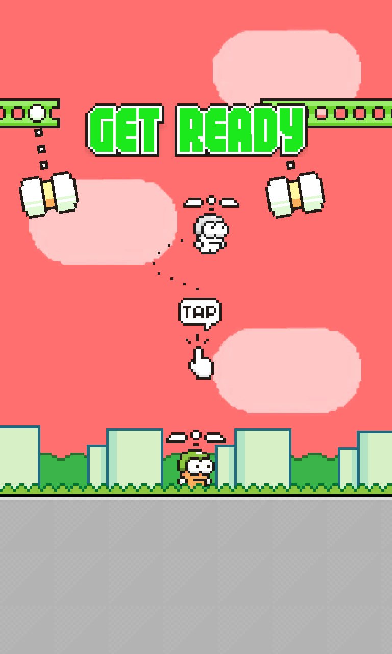 Swing Copters WP8