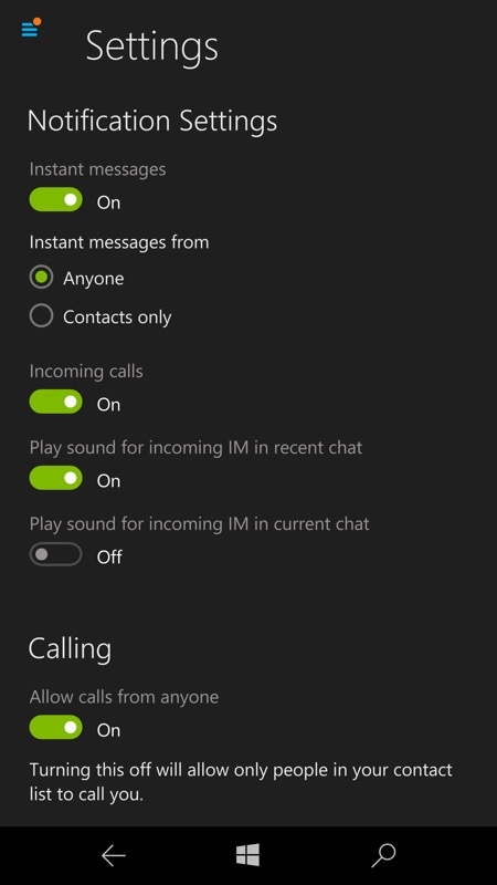 how to clear skype conversation windows 10