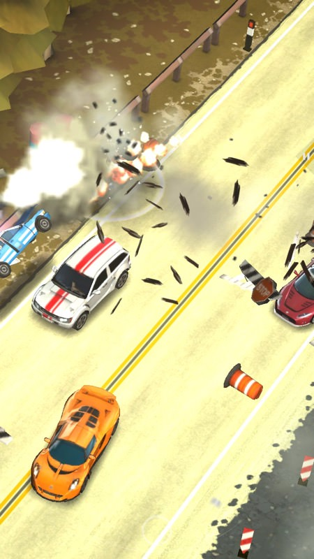 Screenshot, Smash Bandits Racing