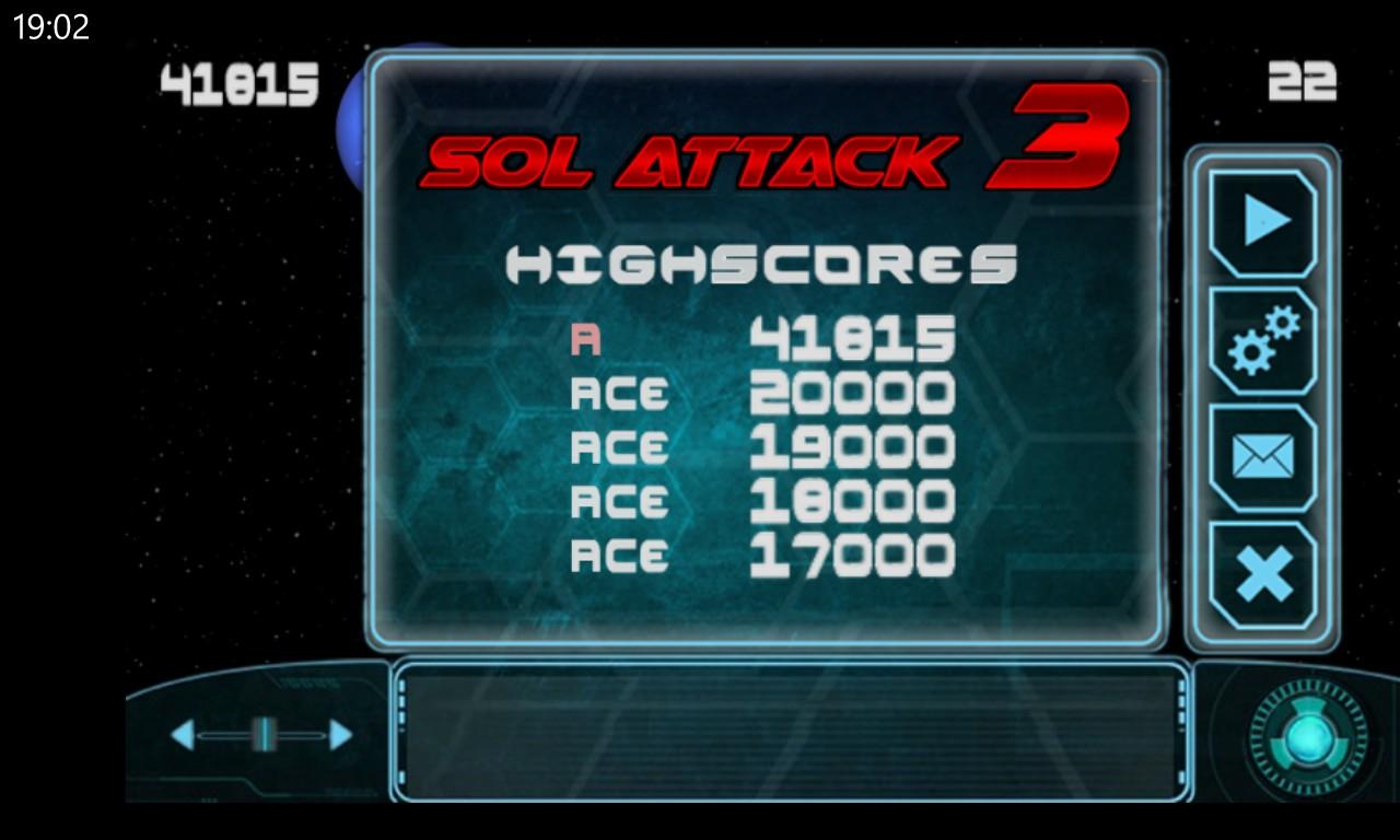 Sol Attack 3 screenshot