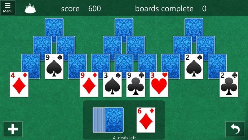 Screenshot, Microsoft Solitaire Collection