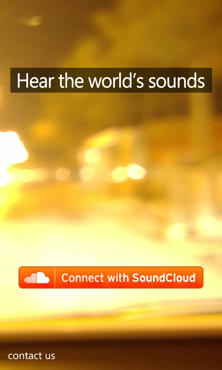 Screenshot, SoundClone