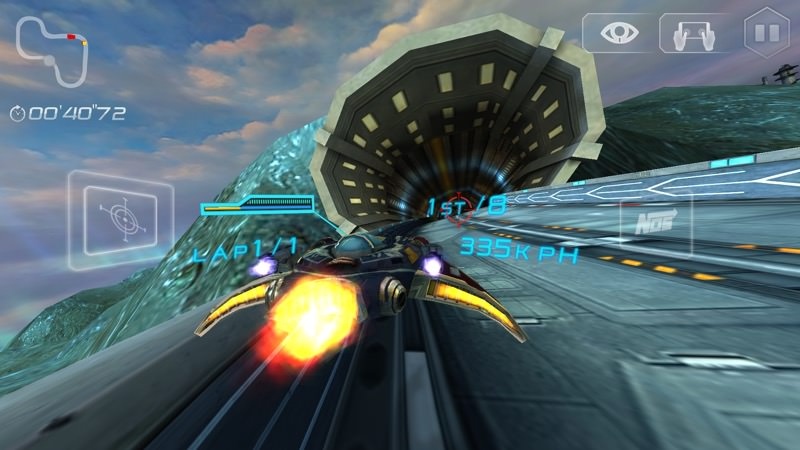 Screenshot, Space Racing 2 UWP