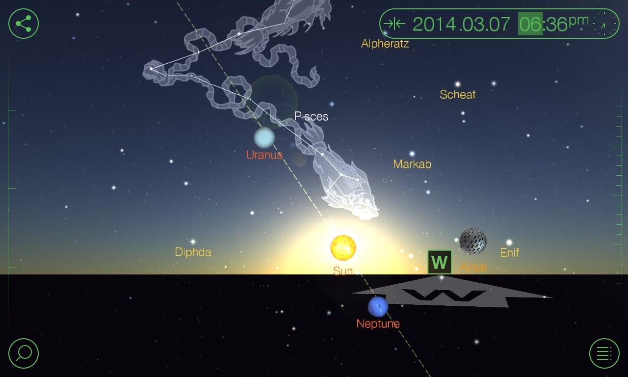 Screenshot, Star Walk